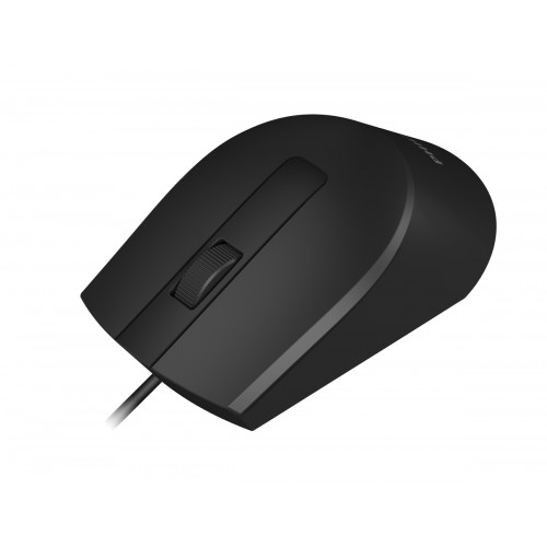 PHILIPS ενσύρματο ποντίκι SPK7104-BK, 1200DPI, USB, 3 πλήκτρα, μαύρο