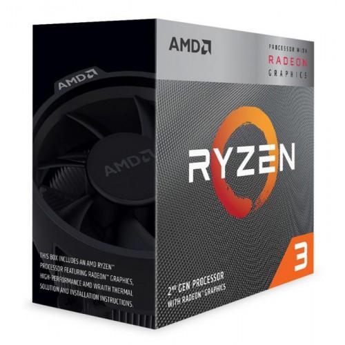 AMD CPU Ryzen 3 3200G, 3.6GHz, 4Cores, 6MB, AM4, Radeon Vega 8 Graphics