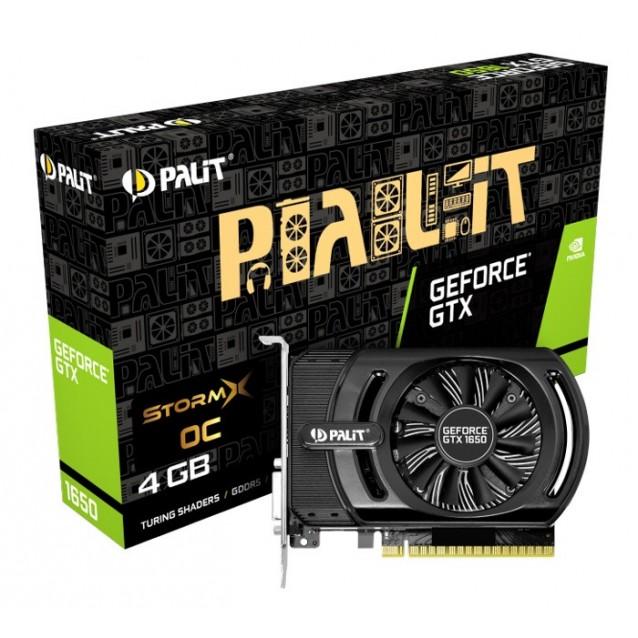 PALIT VGA GeForce GTX 1650 StormX NE51650S06G1-1170F, GDDR5 4G, 128bit