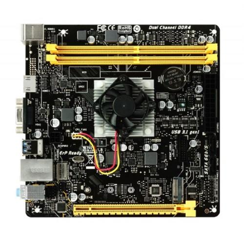 BIOSTAR Μητρική A10N-8800E και CPU FX-8800P, 2x DDR4, USB 3.1, Ver. 6.0