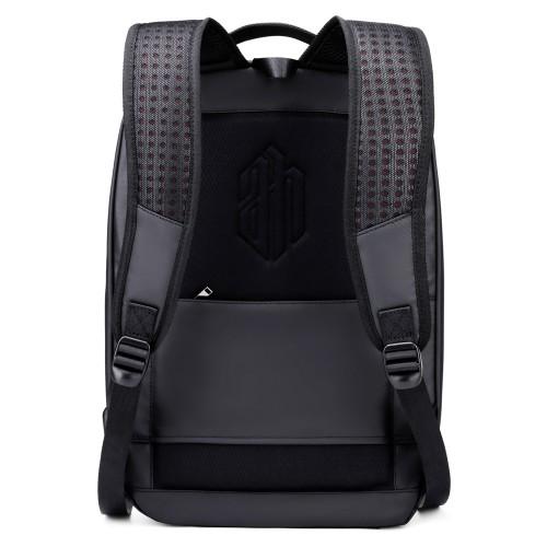 ARCTIC HUNTER τσάντα πλάτης B00320-BK-CK με θήκη laptop, eva, μαύρο CK