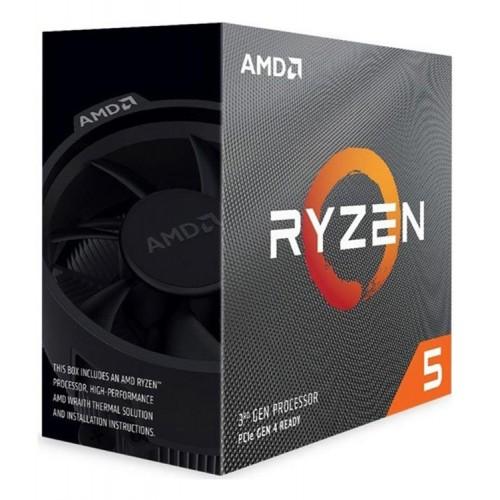 AMD CPU Ryzen 5 3600, 3.6GHz, 6 Cores, AM4, 35MB, Wraith Stealth cooler