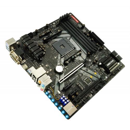 BIOSTAR Μητρική B450GT3, 4x DDR4, AM4, USB 3.1, mATX, HDMI, Ver. 6.0