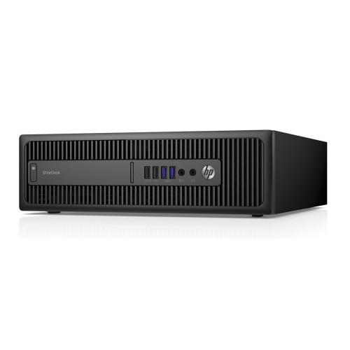 HP PC 600 G1 SFF, i3-4160, 8GB, 240GB SSD, DVD-RW, REF SQR