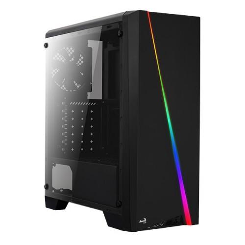 AEROCOOL PC case mid tower CYLON, 198x459x413mm, 1x fan