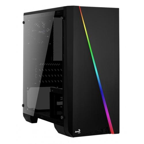 AEROCOOL PC case mini tower CYLON-MINI, 186x381.5x373mm, 1x fan