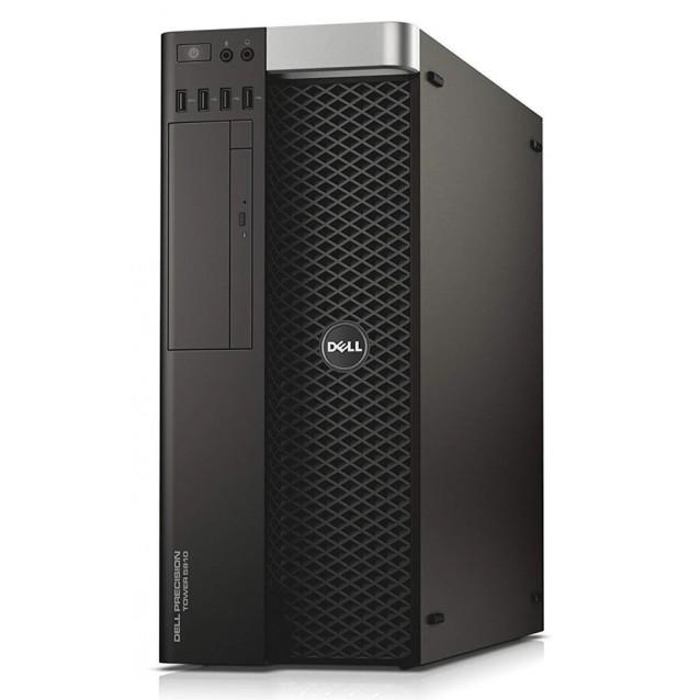 DELL PC 5810 Tower E5-1650 V3, 32/256GB SSD & 500GB, DVD, Win 10 Pro, FR