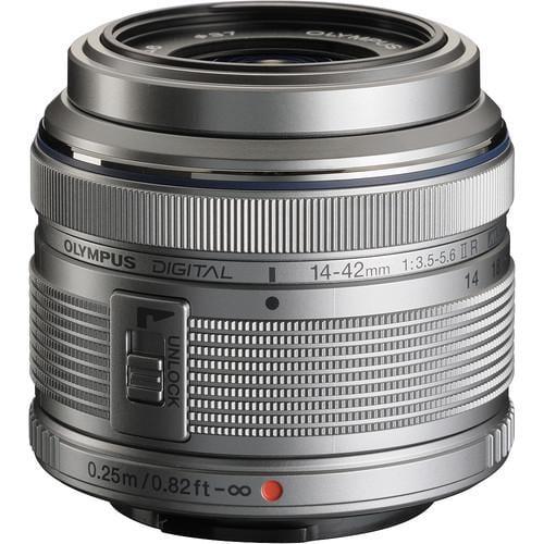 Olympus 14-42mm 1:3.5-5.6 II R SILVER M.ZUIKO DIGITAL (EZ-M1442-2R) Lense Micro FT