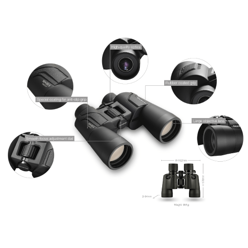 Olympus Binoculars 10x50 S incl. Case & Strap