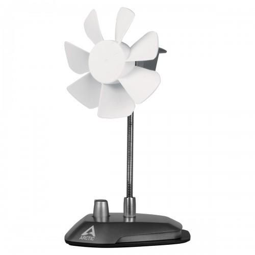 Arctic Breeze Silver USB Desktop Fan