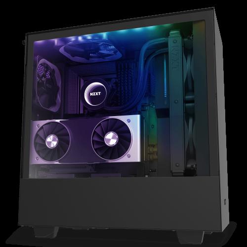 NZXT H510i Black - Tempered Glass -Smart 2nd Gen