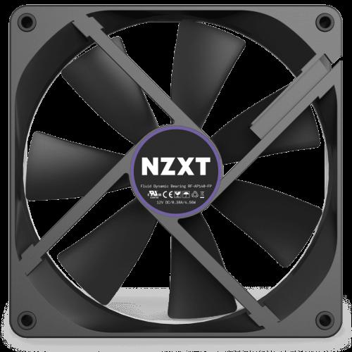 NZXT Aer P 120mm Static Pressure Fan - 4 PIN - Fluid Bearing