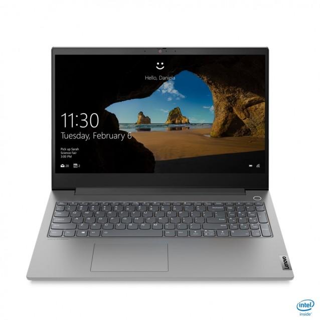LENOVO Laptop ThinkBook 15P-IMH 15.6'' FHD IPS/i7-10750H/16GB/512GB SSD/GeForce GTX 1650Ti 4GB /Win 10 Pro/2Y NBD/Grey