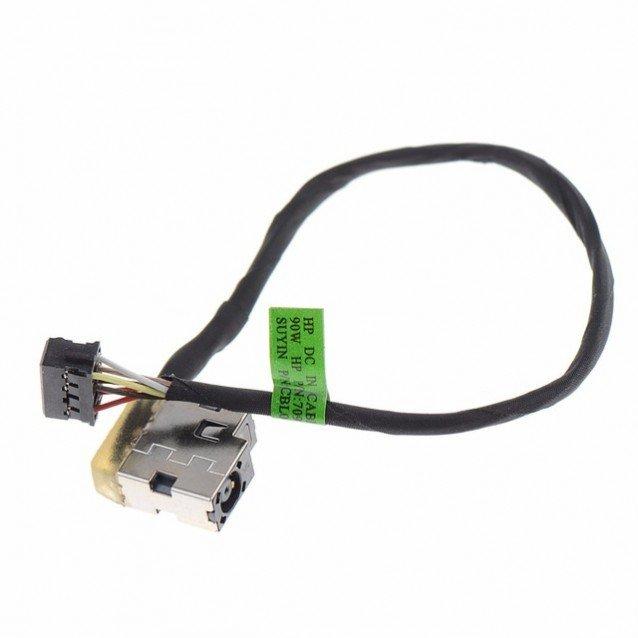 Βύσμα Τροφοδοσίας DC Power Jack Socket HP PAVILION 15-E 17-E  8 PIN